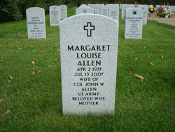 Margaret Louise Allen