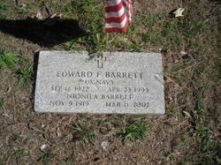 Edward F Ned Barrett