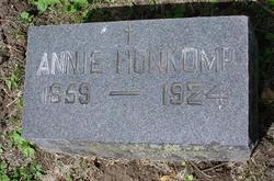 Annie <i>Glahn</i> Honkomp