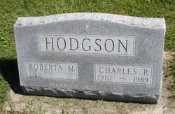 Roberta Mae <i>Karr</i> Hodgson
