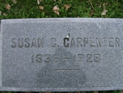 Susan C <i>Buckholder</i> Carpenter