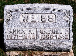 Anna A. <i>Yarian</i> Weiss
