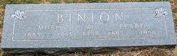Pearl Myrtle <i>Reynolds</i> Binion
