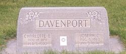Charlotte Ellen <i>Sperry</i> Davenport