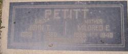 John T Pettit