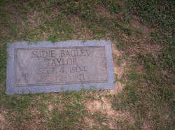 Sudie Mamie <i>Bagley</i> Taylor