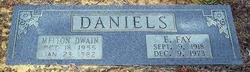 Melton Dwain Daniels
