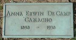 Anna <i>Erwin DeCamp</i> Camacho