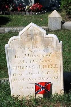 Maj Thomas Jefferson Noble