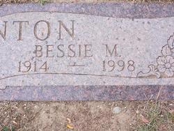 Bessie M. Blanton