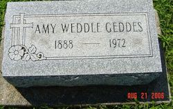 Amy <i>Weddle</i> Geddes