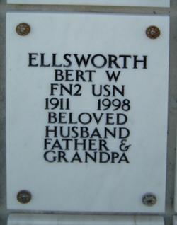 Bert W Ellsworth