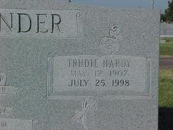 Trudie May <i>Hardy</i> Alexander
