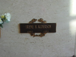 Irene Hattie <i>Wolgamott</i> Alderson