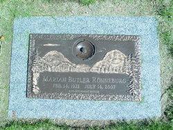 Marian <i>Walker</i> Ronneburg
