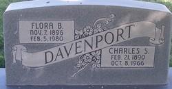 Flora Bell <i>Barrett</i> Davenport
