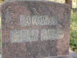Golda Goldie <i>Keithley</i> Brown