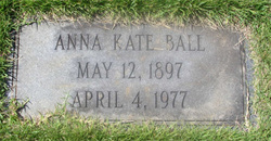 Anna Katie Annie <i>Bailey</i> Ball