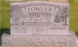 Fay LaRue <i>Grover</i> Fowler