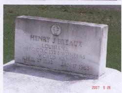 Henry J Breaux