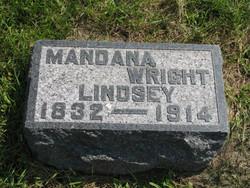 Mandana <i>Wright</i> Lindsey