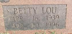 Betty Lou <i>Martin</i> Gann