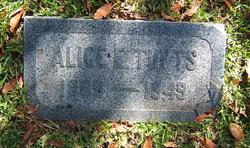 Alice E. Tufts