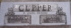 Louisa M. Lizzie <i>Laurence</i> Cupper