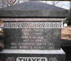 Anna <i>French</i> Thayer
