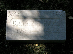 Carrie Elizabeth <i>Manhardt</i> Hahs