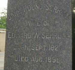 Jane <i>Pound</i> Serrell