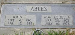 John Lewis Ables