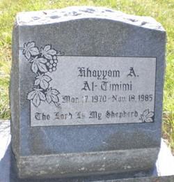 Khayyam A. Al-Timimi