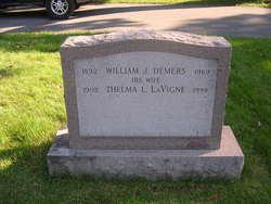 Thelma L <i>LaVigne</i> Demers