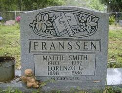 Mattie <i>Smith</i> Franssen