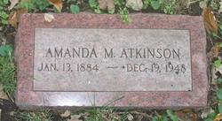 Amanda M Atkinson