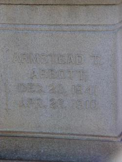 Armstead T Abbott