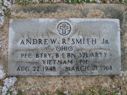 Pvt Andrew Richard Smith, Jr