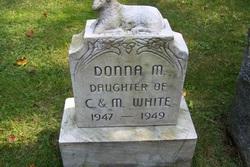 Donna M White