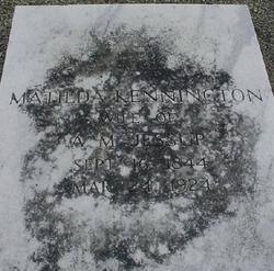 Matilda Ann <i>Kennington</i> Jessup
