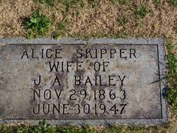 Alice <i>Skipper</i> Bailey