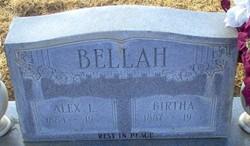 Birtha Elizabeth <i>Gipson</i> Bellah