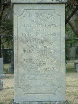 Mahala Jane <i>Dixon</i> Daniel