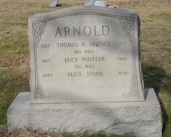 Lucy <i>Wheeler</i> Arnold