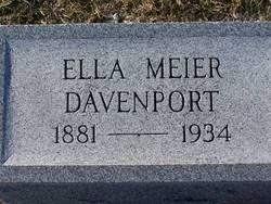Ella Meier Davenport