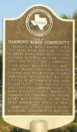 Harmony Ridge Cemetery