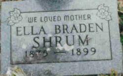 Ella Jane <i>Braden</i> Shrum