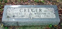 Charlotte Ellen Lottie <i>Fielder</i> Creger