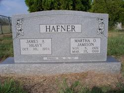 Martha Oda <i>Jamison</i> Hafner