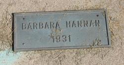 Barbara Hannan